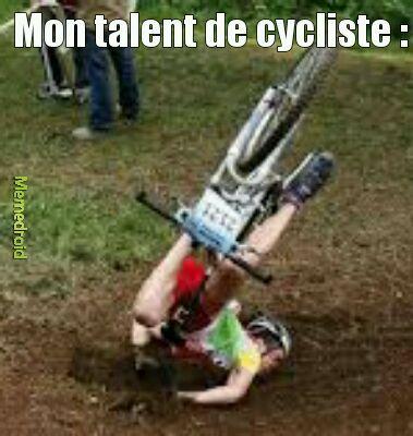 Le vélo ? J'adore sa - meme