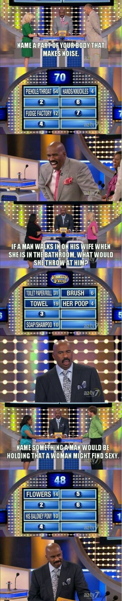 Some of the best family feud answers - meme