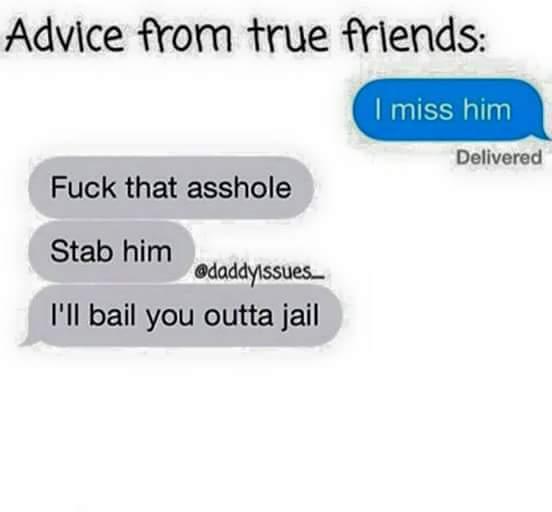 Real friend. - meme