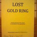 -perdu, anneau en or -bien essayé Sauron
