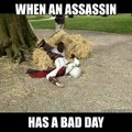 Just assassin things........