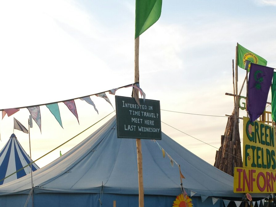 The best sign at Glastonbury!!! - meme