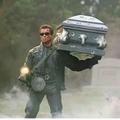 c'est ce que je  veux que mes funérailles ressemble quand je mourrai