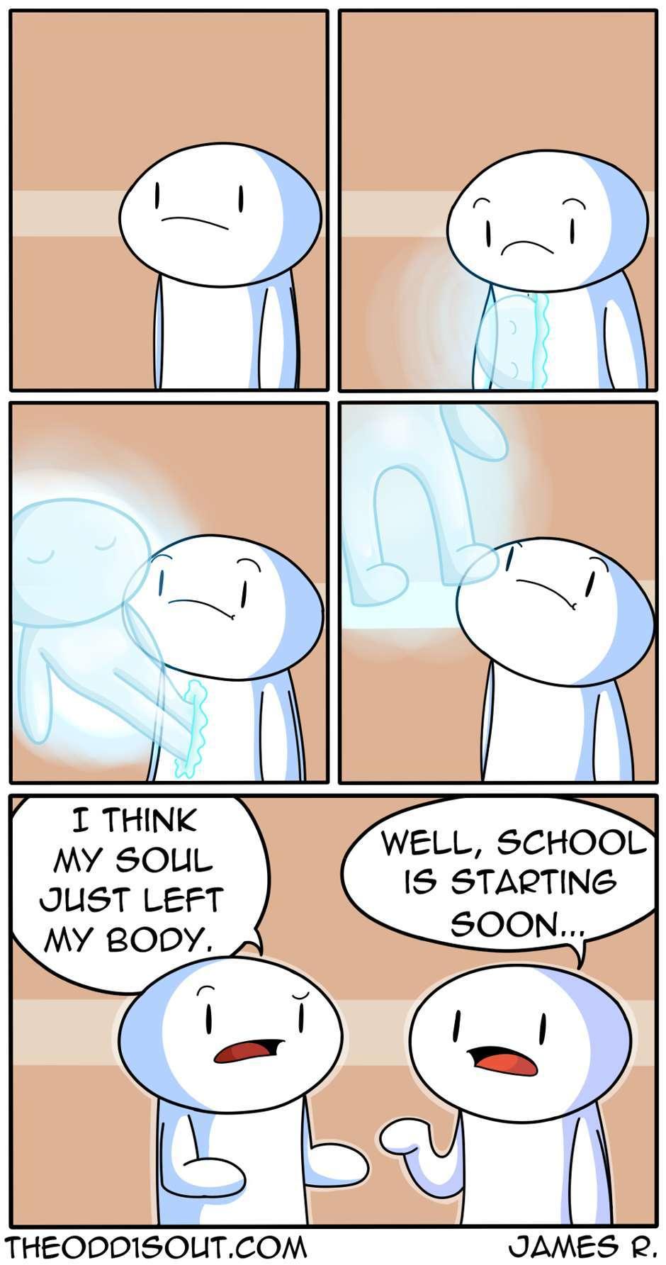 nobody likes school - meme