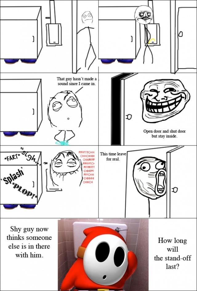 shy guy - meme