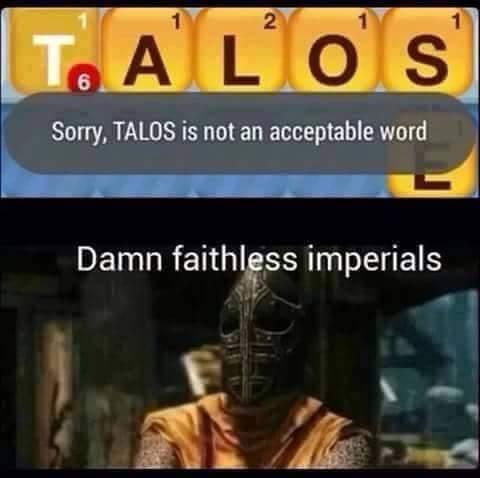 Imperial scum! - meme