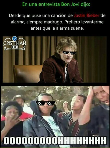 Bon Jovi, el amo - meme