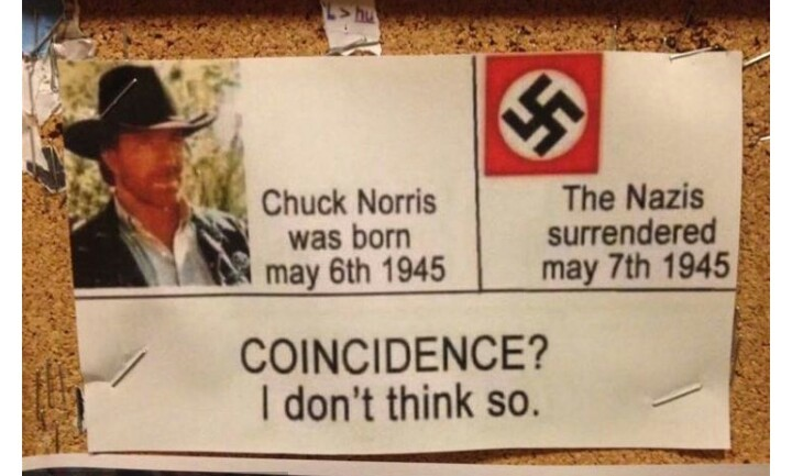 Chuck Norris is 70 and could still kick your ass - meme