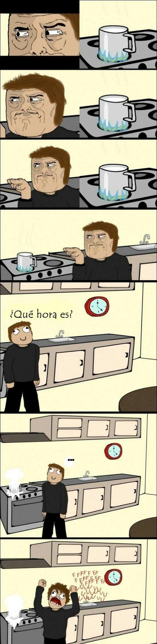 La hora - meme