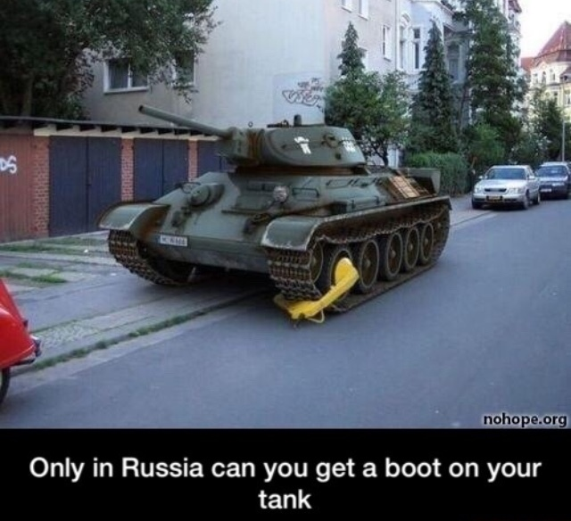 russia is cyka - meme