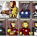Ironman has a suit for all possible problems