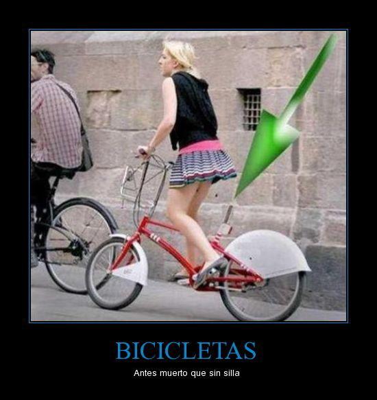 Bicicletas - Meme subido por soydolphin  Memedroid