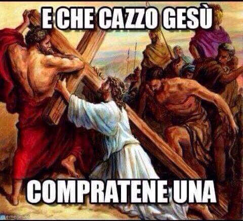 Jesus il ladruncolo - meme