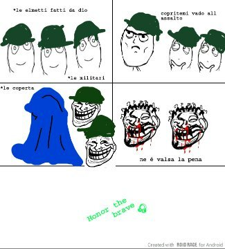 Militari valorosi - meme