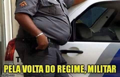 Volta regime - meme