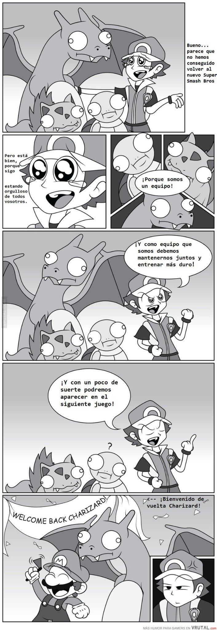 Charizard el chaquetero - meme