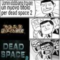Immagina il titolo per dead space 3