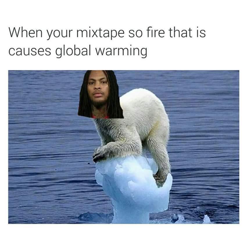 SAVANT'S MIXTAPE IS FIRE - meme