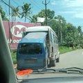 Mother Van giving birth to a baby Van