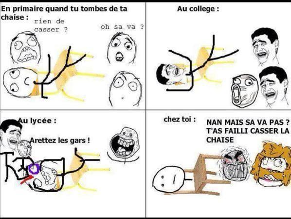 Chaise - meme