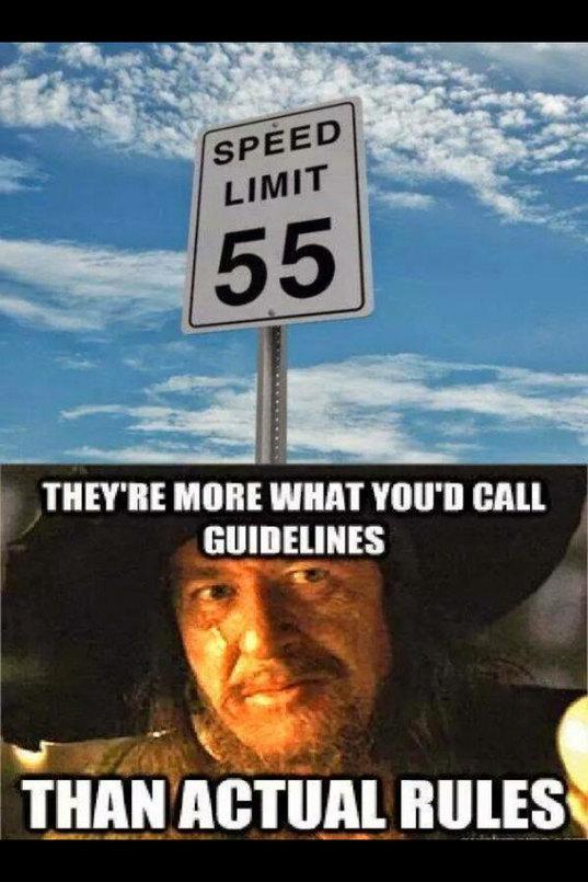Rules - meme