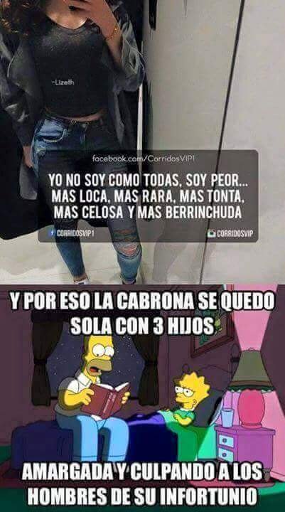 """Mujeres """"cabronas"""" ಠ_ಠ - meme"""