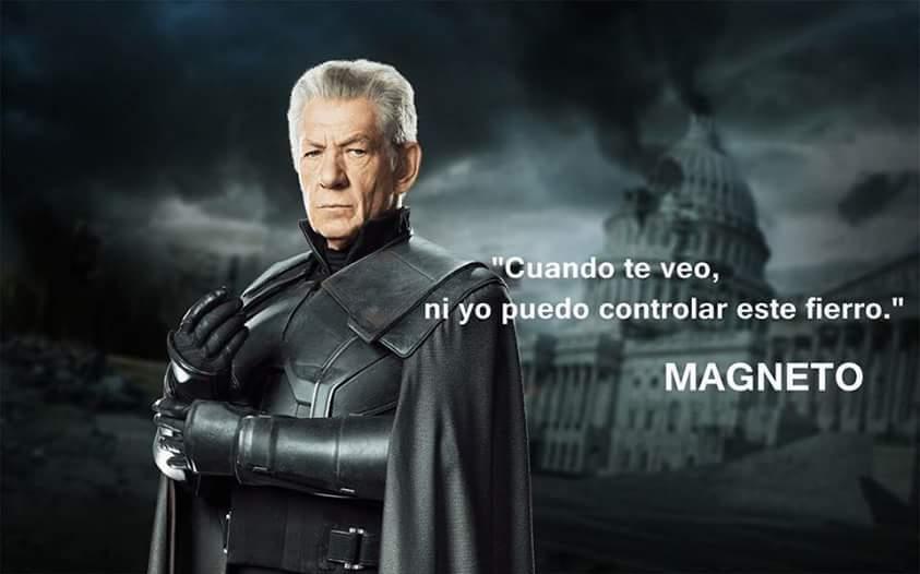 Ese Magneto es un loquillo - meme