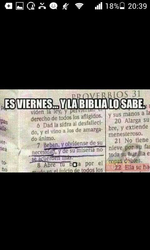 La biblia es sabia - meme