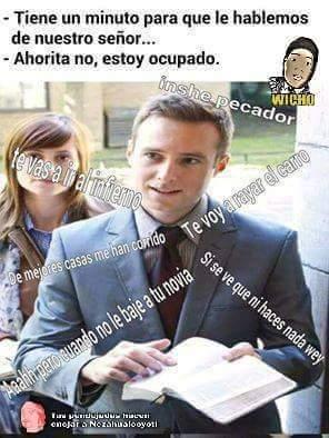 Jajaja testigos de jehova pls - meme