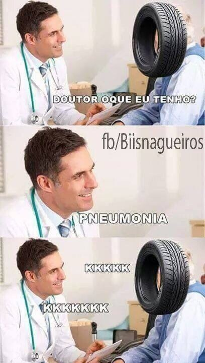 Pneumonia kkkk - meme