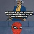 Do you have a moustache?