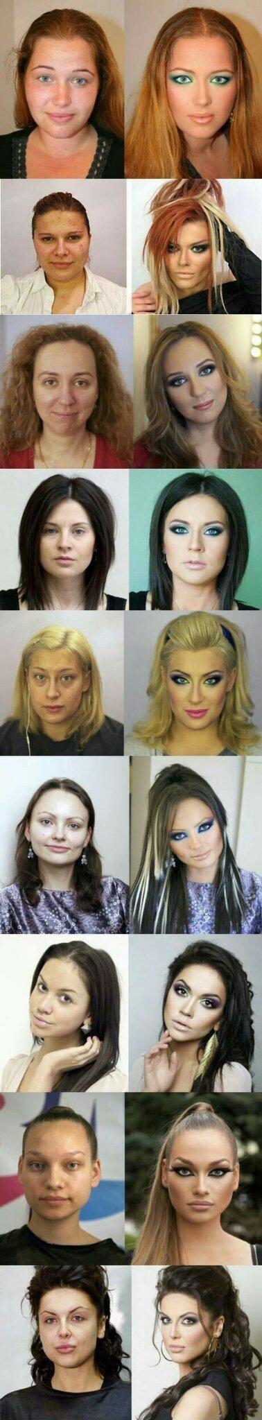 Makeup is a fool - meme
