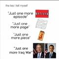 lies everywhere