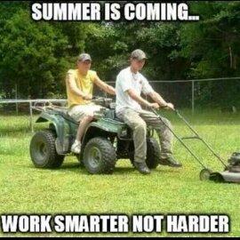 Smarter. - meme