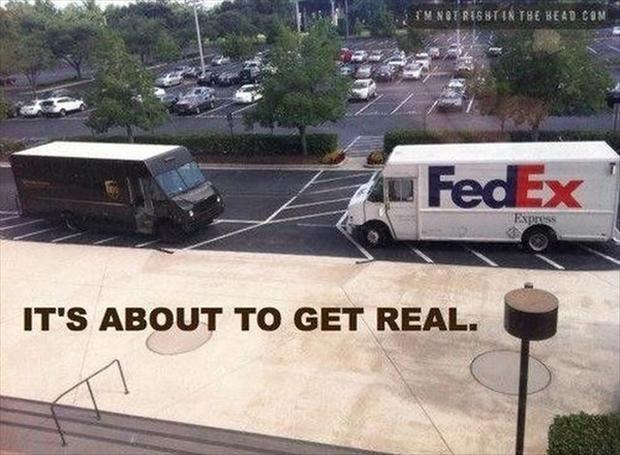 Mail fight - meme