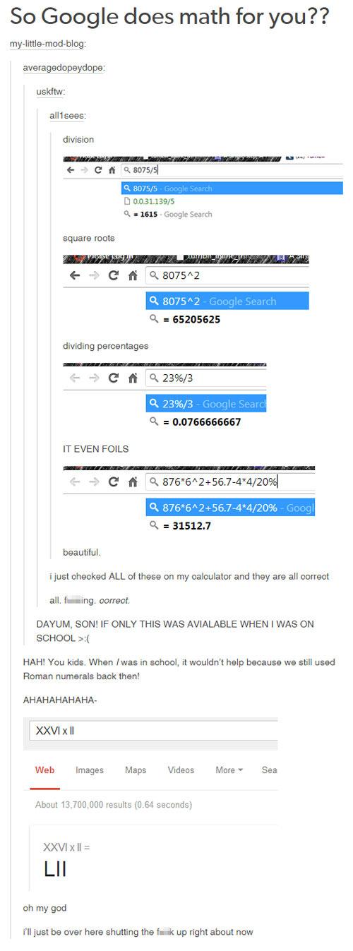 I do maths for you. - meme