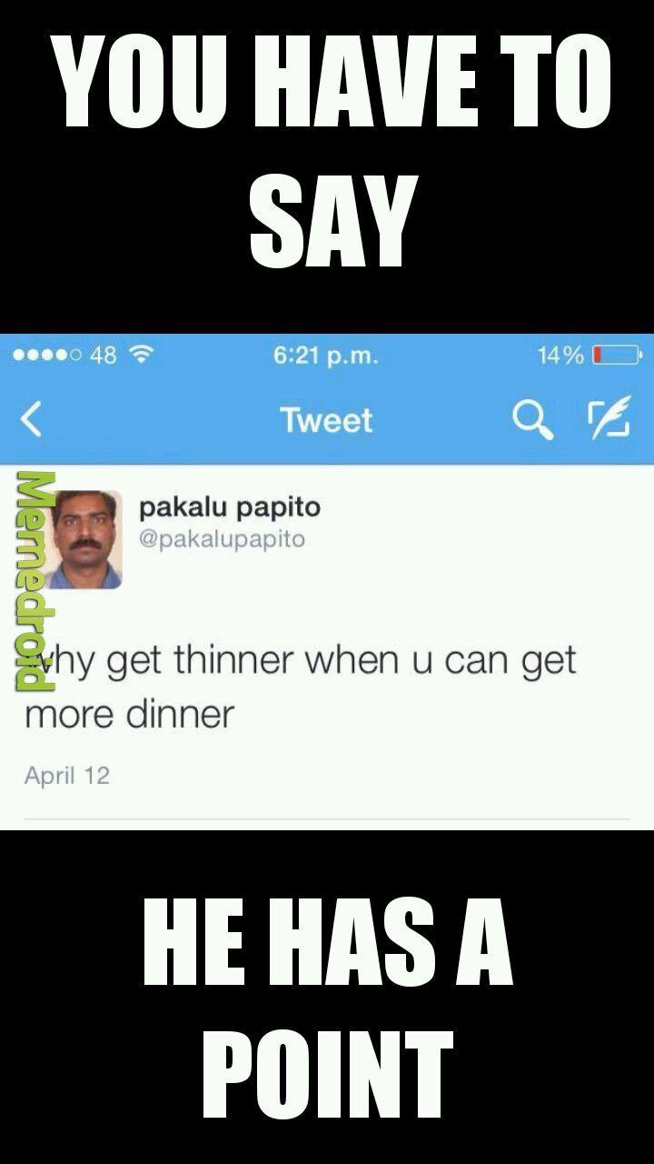 Pakalu for president - meme
