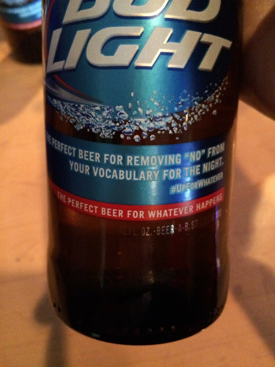 bud light: most honest beer out there - meme
