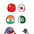 Rivalités dans le monde