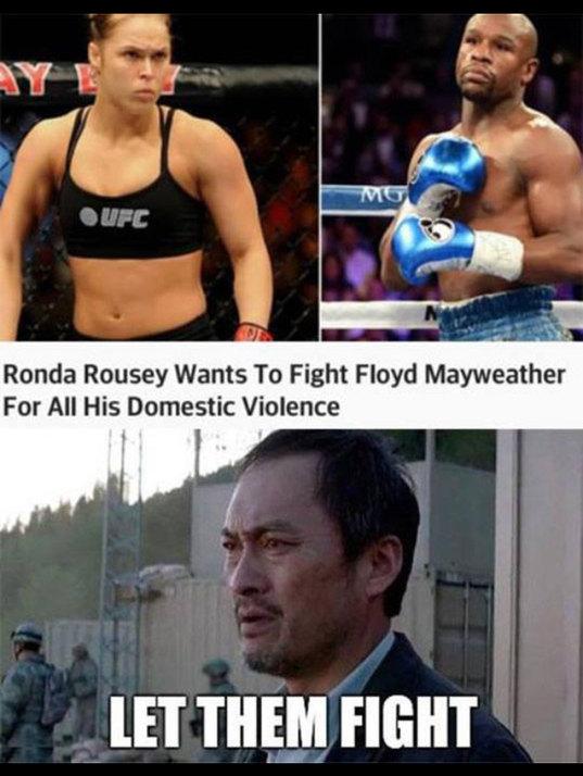 Fight fight fight - meme