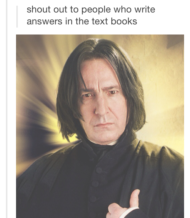 why thank you Snape - meme