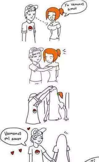 Como sair com sua namorada - meme