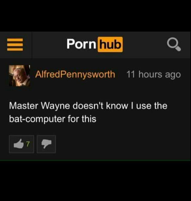 """Yes Master Wayne Sir"" - meme"