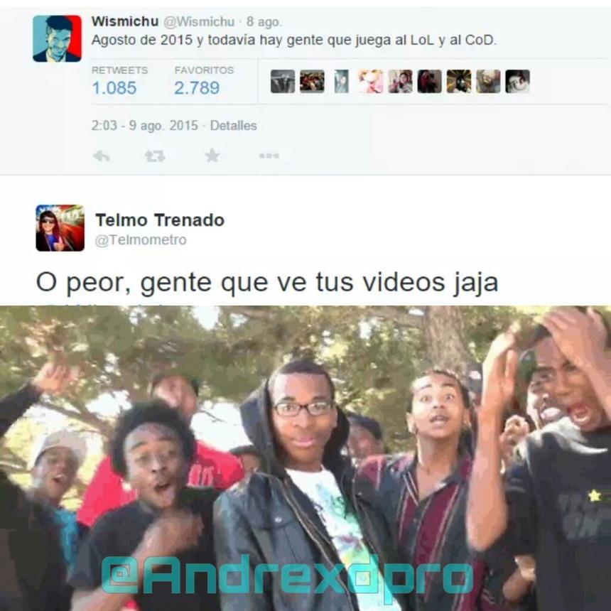 @Andrexdpro es mi twitter xd - meme