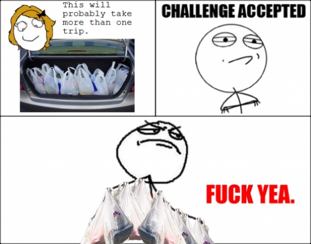 challenge accepted! - meme
