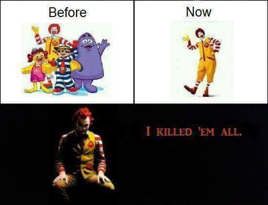 Life of a clown is tough 1 like=1prayer - meme
