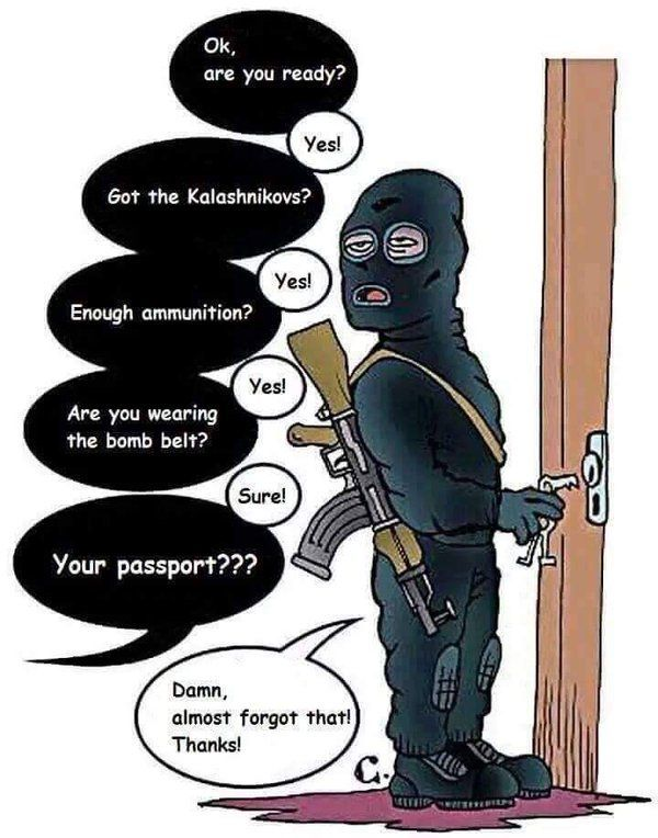 dont forget your passport - meme