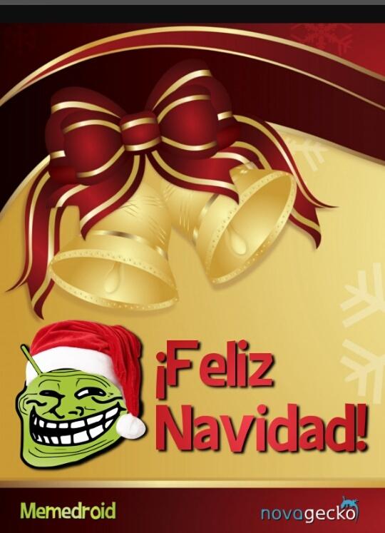 Feliz navidad amigos de memedroid