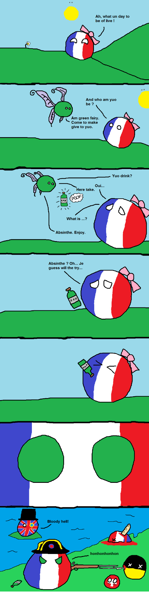 Google Polandball comics for more - meme