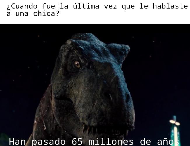 65 millones de años - meme